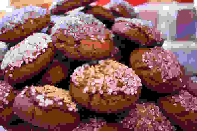 Nigella Lawson's Christmas Chocolate Cookies