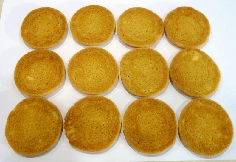 Cookies bottom