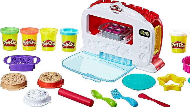 Play-Doh kitchen toy.