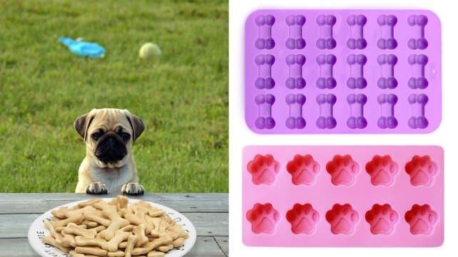 IHUIXINHE Dog Treat Silicone Molds