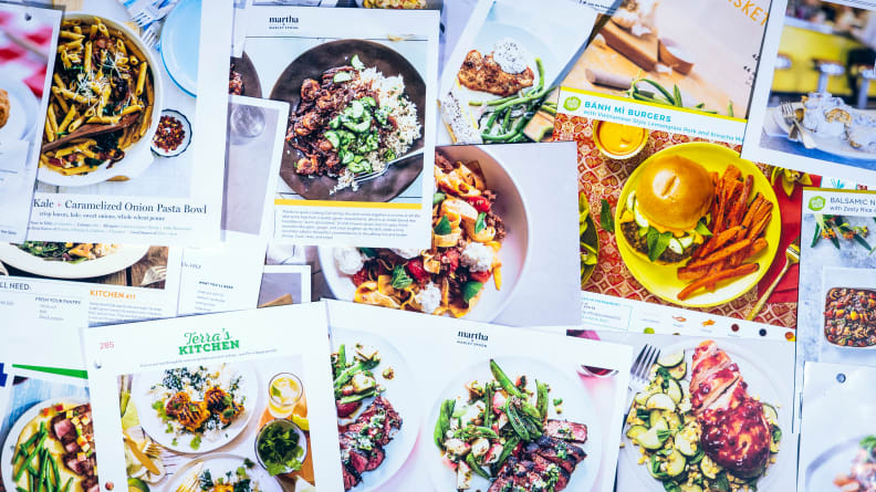The Best Meal Kits - Recipe Cards