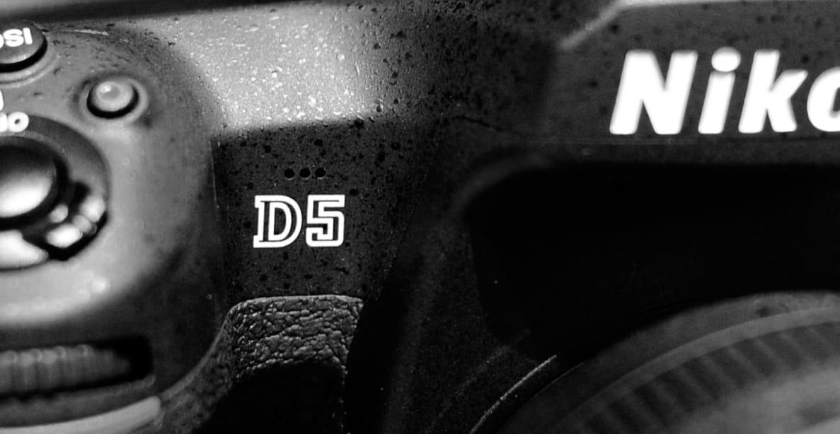 The Nikon D5 professional DSLR