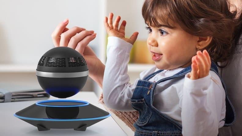 ZVOLTZ Levitating Bluetooth Speaker