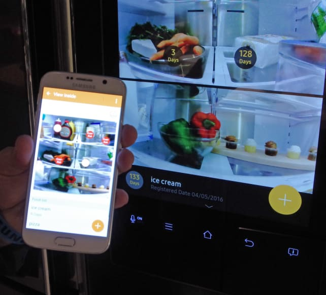Samsung Family Hub Food Management