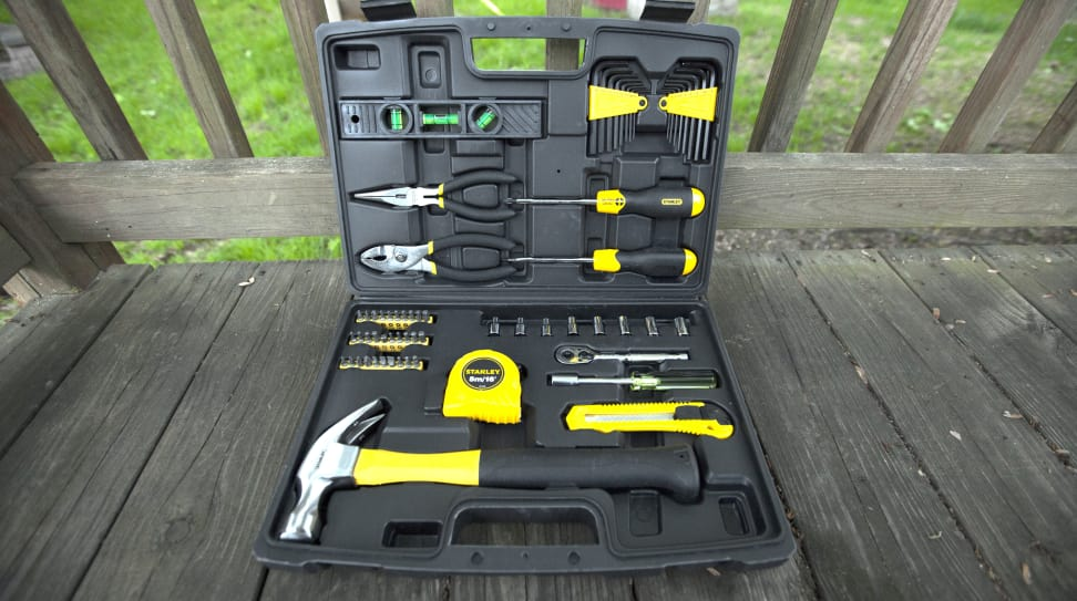Stanley 65-piece homeowner's tool set