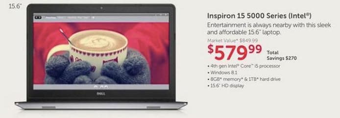 Dell Cyber Monday Laptop
