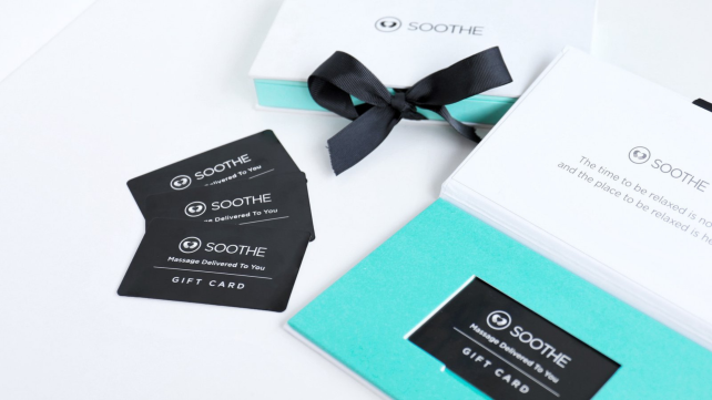 Gifts for new parents 2019: Soothe Gift Card