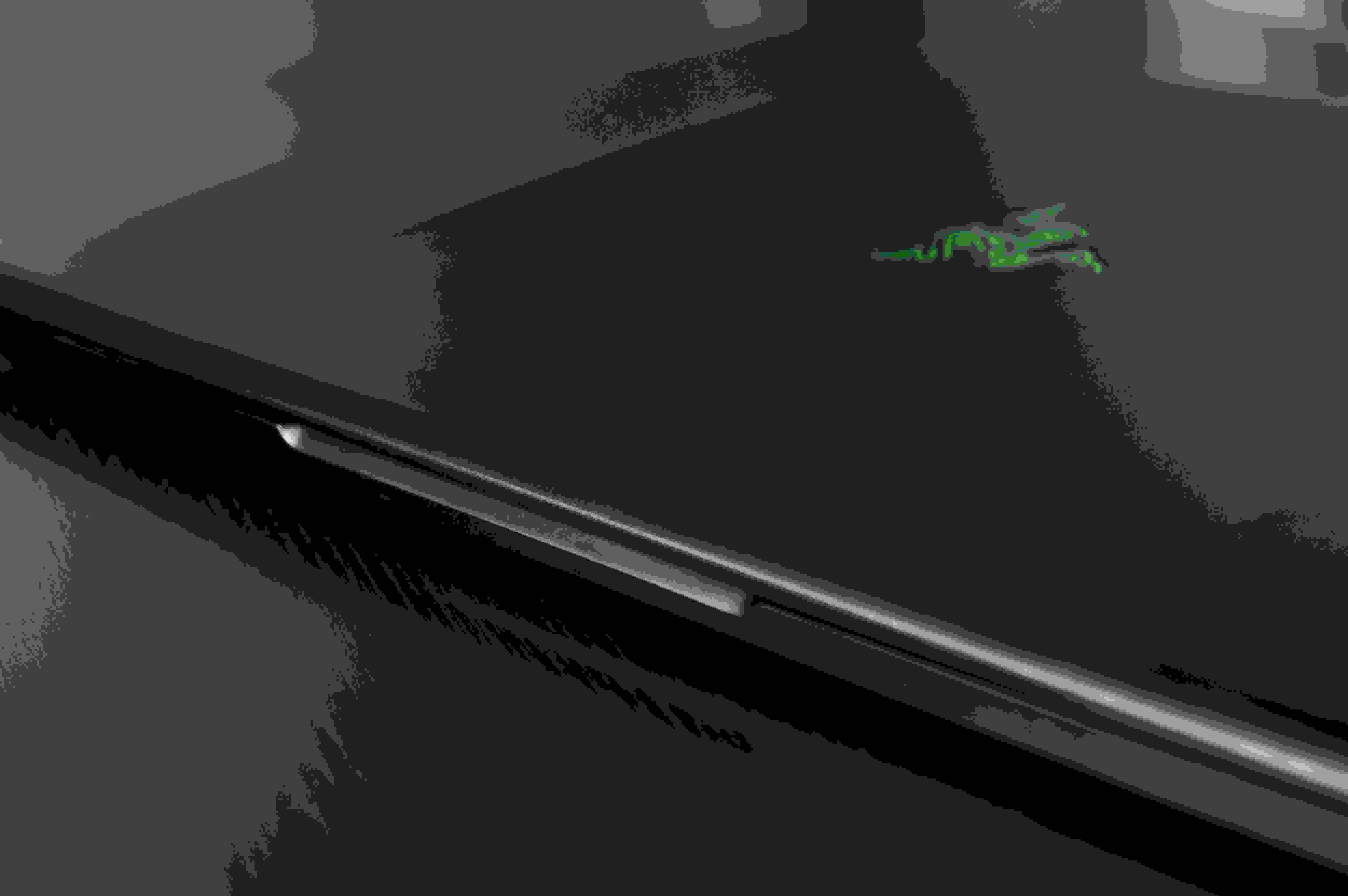 A photo of the Razer Blade Pro closed.