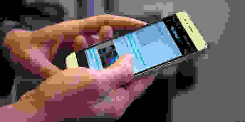 Huawei GX8 In Hand