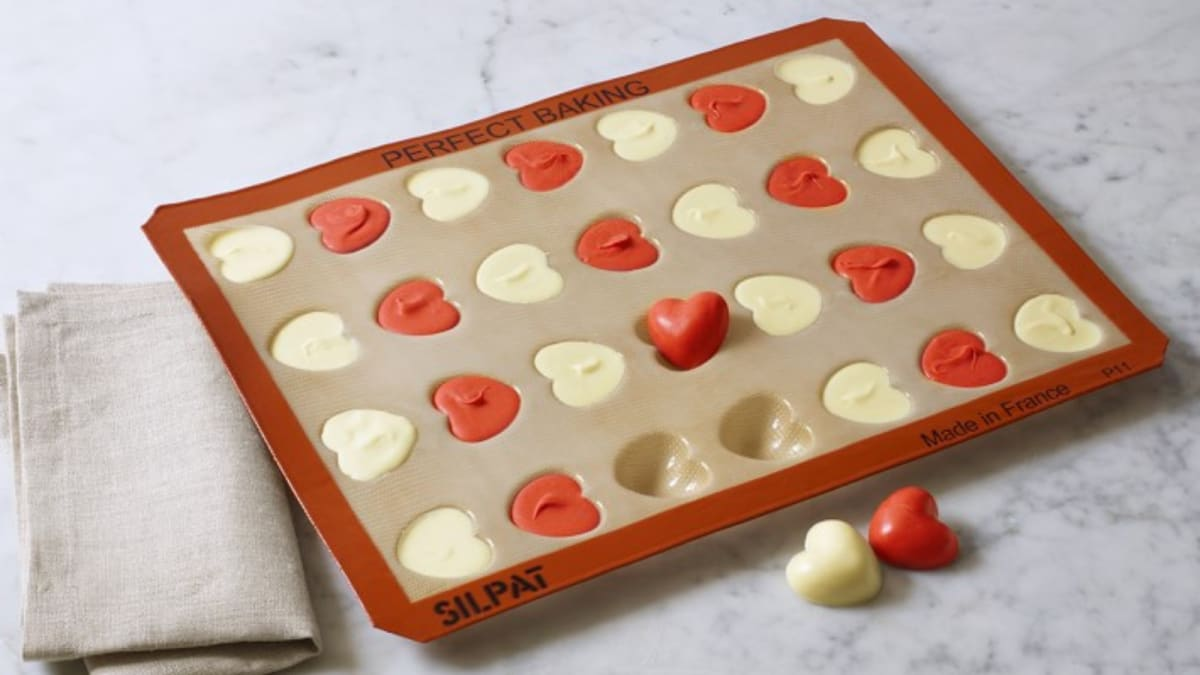 This heart-shaped mold is the key to DIY Valentine's Day treats