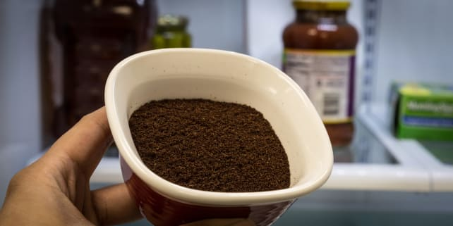 Can You Put Coffee Grounds In Cake