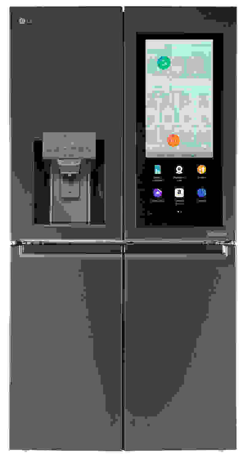 LG Smart InstaView Display On