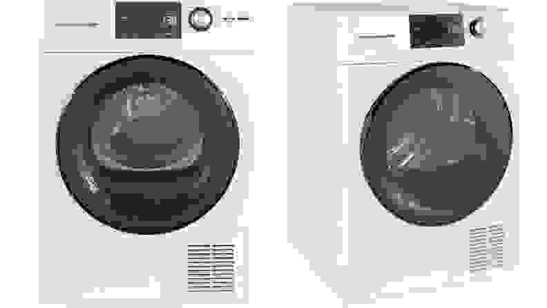 GE GFT14ESSMWW ventless condenser dryer—full