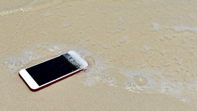 Lost Smartphone on the Beach