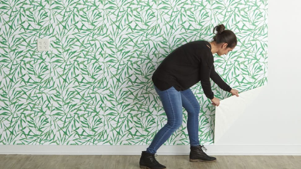 Removable wallpaper is a huge trend—here's how to try it