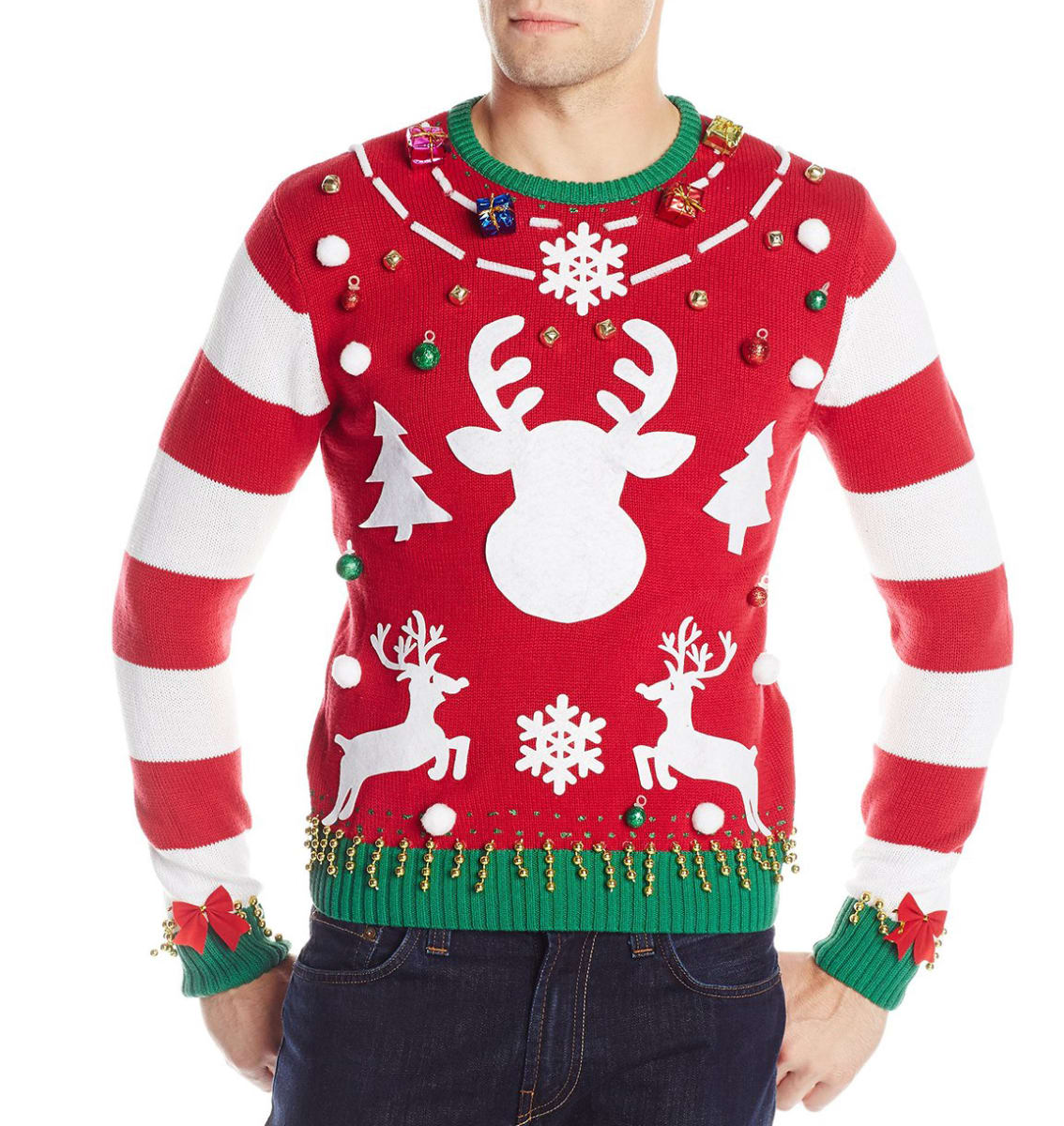 10 Ugly Christmas Sweaters You Can Wear Right Now - Reviewed.com Laundry