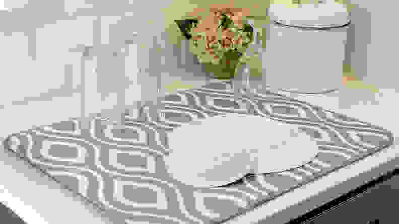 S&T XL Microfiber Dish Drying Mat