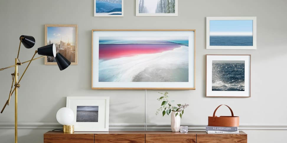 The Frame TV from Samsung was designed to blend in seamlessly with the art in your home.