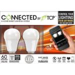 Tcp connected smart led light bulb starter kit