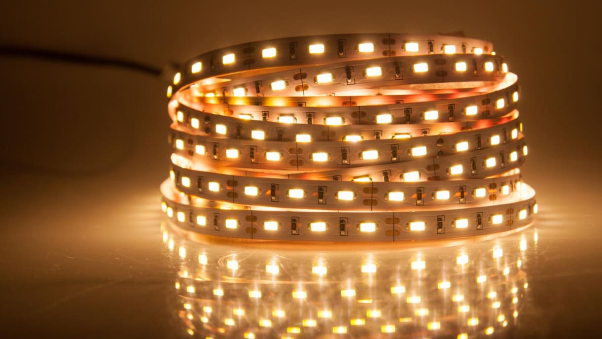 Smart LED strip light