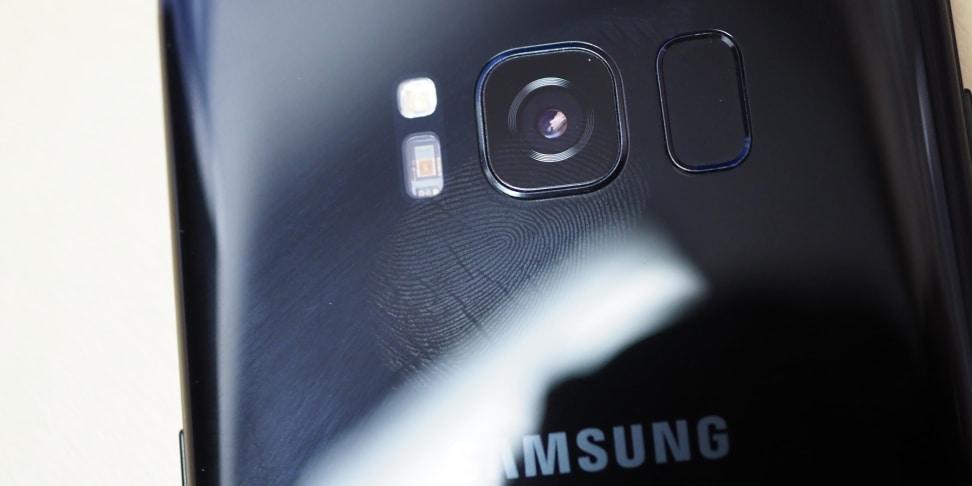 Samsung Galaxy S8 Fingerprint Scanner