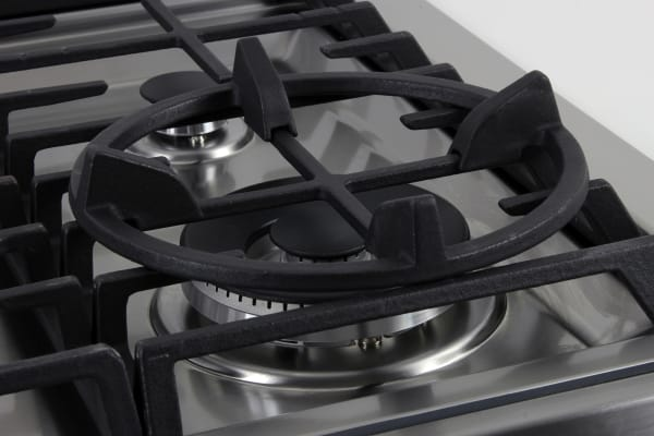 The Samsung NX58H9950WS's wok grate