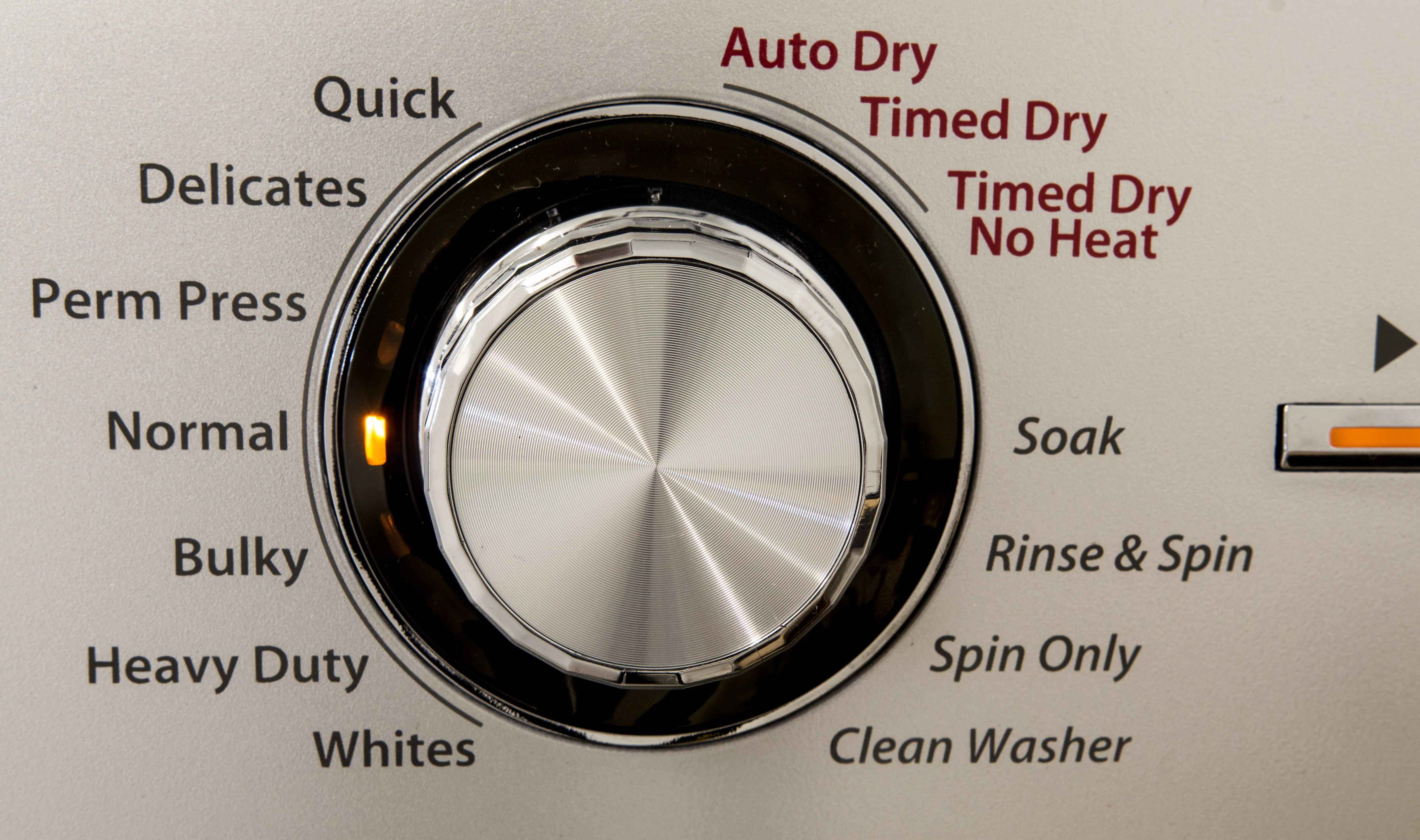 The Haier has 8-washing cycles and 3-drying cycles.