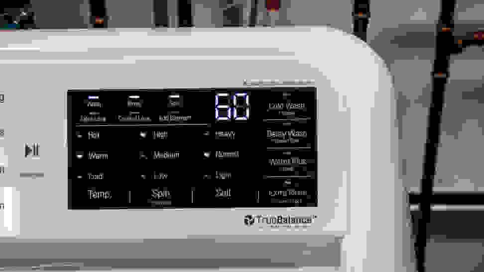 LG WT7100CW Options