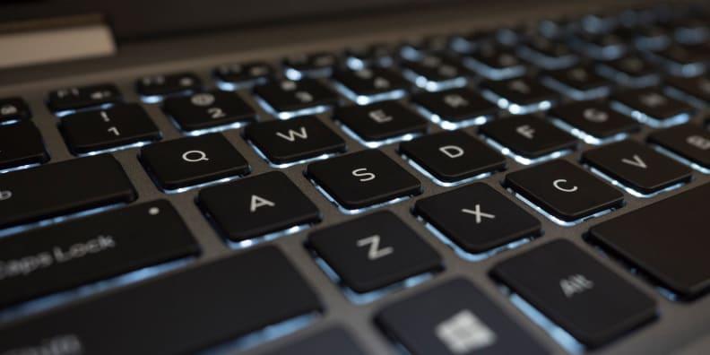 Dell Inspiron 13 5000 2-in-1 keyboard
