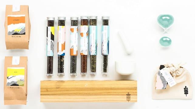 Thoughtfully Gifts Tea Mixology Gift set
