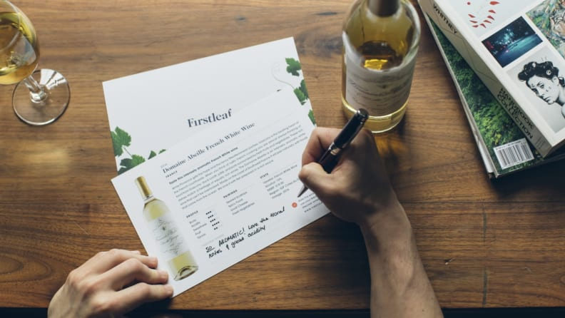 Firstleaf wine cards