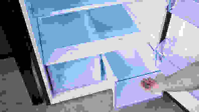 Samsung RT18M215SG/AA crispers