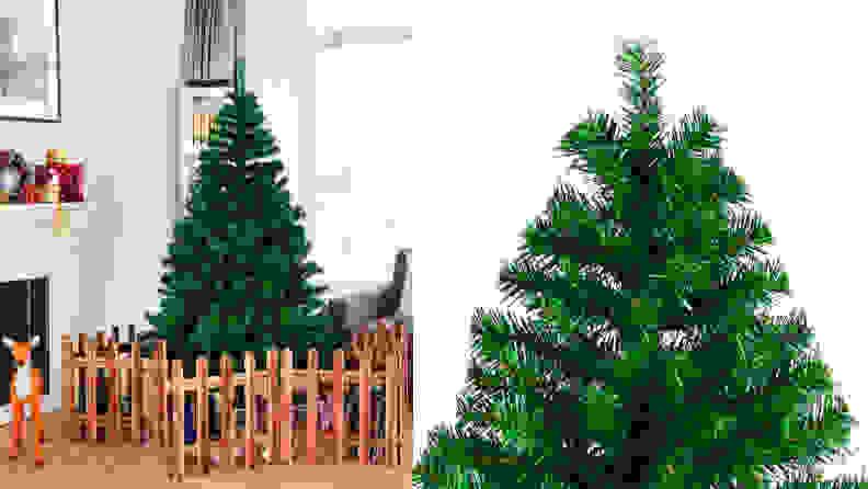 2. Goplus Artificial Christmas Tree