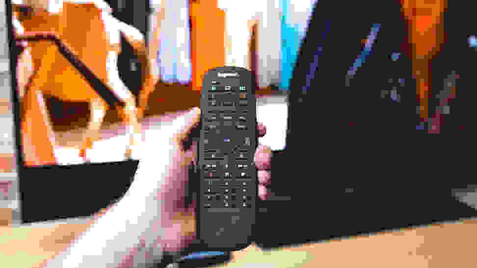 The Best Universal Remote Controls: Logitech Harmony Companion Remote Control Close-Up