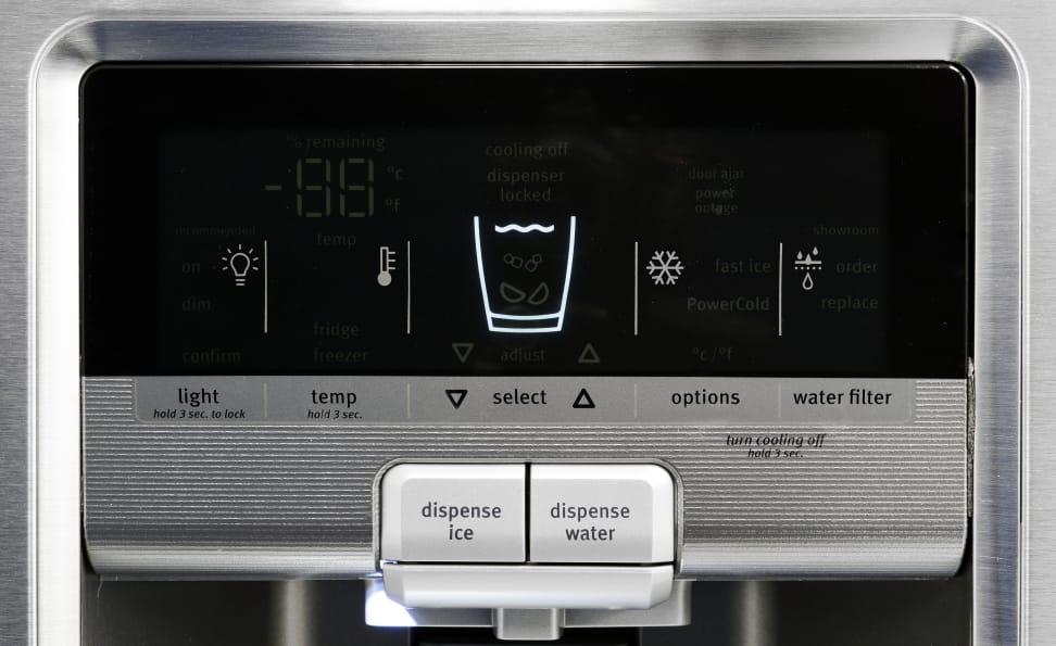 Maytag MFX2876DRM Controls