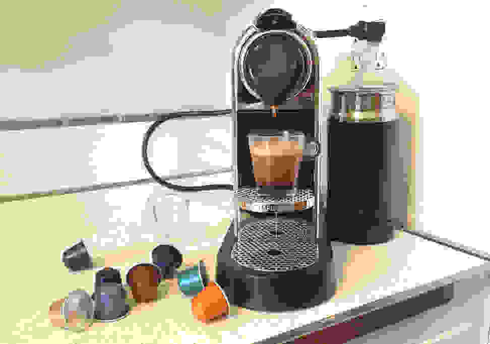 The Nespresso Citiz and Milk in testing