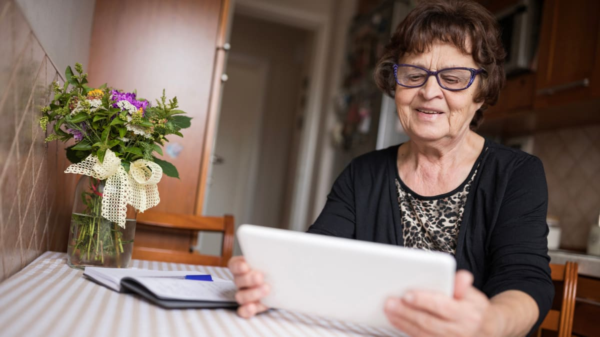 If you've got age-related hearing or vision loss, these things can help
