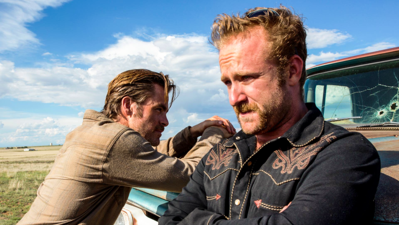 Chris Pine and Ben Foster play brothers on a robbin' spree in 'Hell or High Water.'