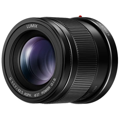 Product Image - Panasonic Lumix G 42.5mm f/1.7 ASPH. Power O.I.S.