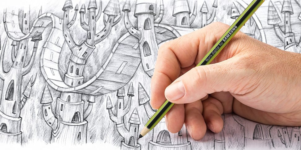 Samsung Noris digital Staedtler stylus