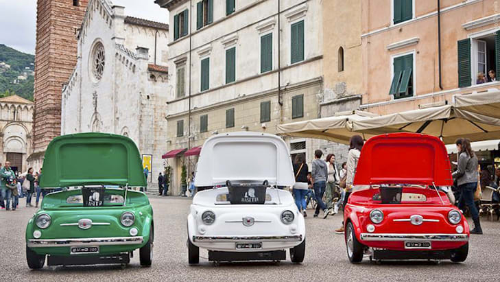 Smeg Fiat 500 Refrigerators