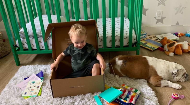 Arlo in a box