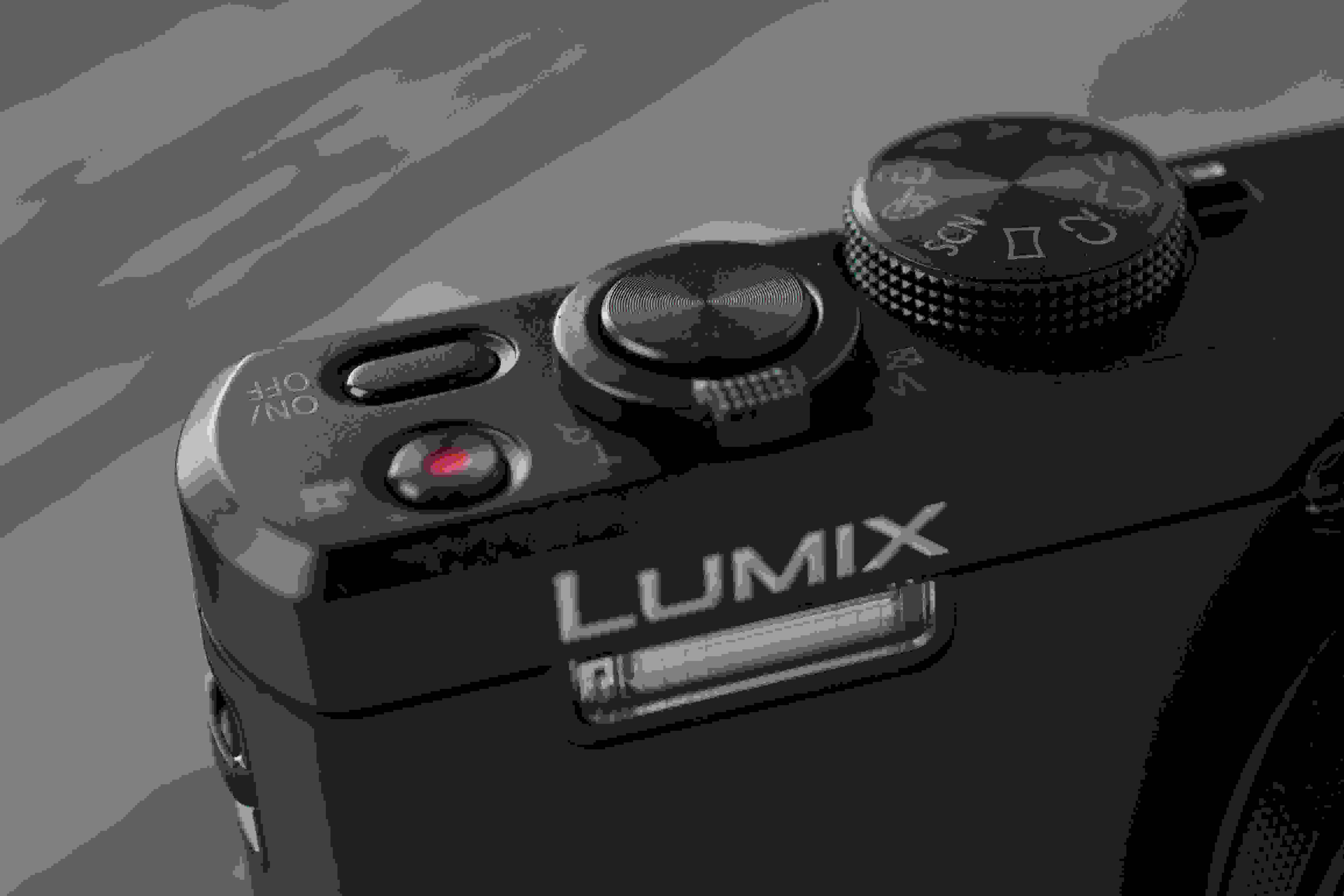 A picture of the Panasonic Lumix ZS40's shutter release.