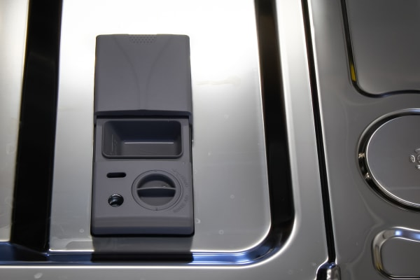 Samsung DW80H9970US detergent and rinse aid dispenser