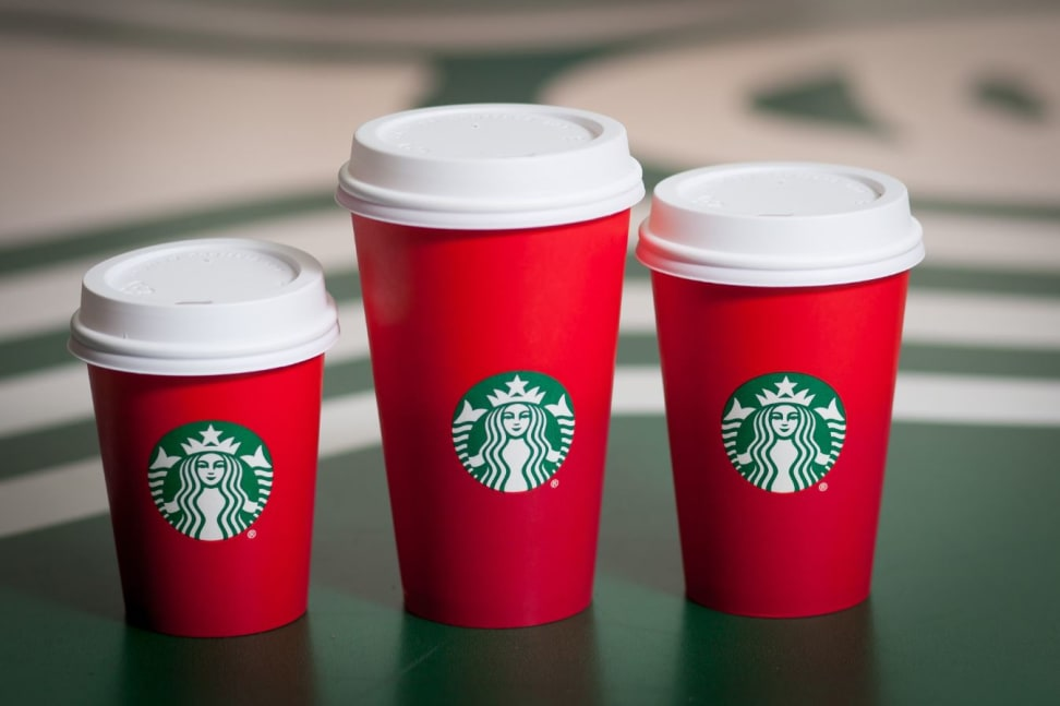 Starbucks 2015 holiday red cups