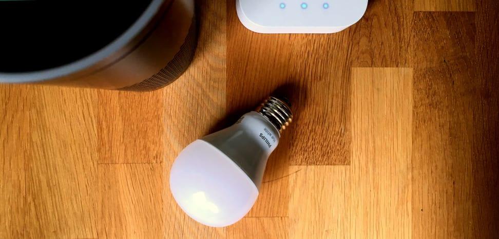 Philips Hue light bulb and Amazon Echo