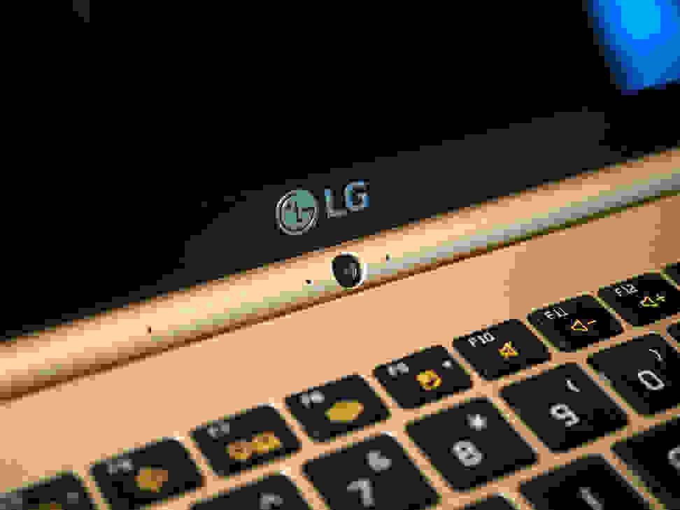 LG Gram 15 Camera