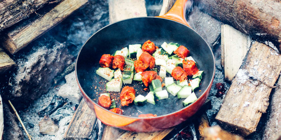 Just because winter is coming, doesn't mean you have to stop cooking outdoors.
