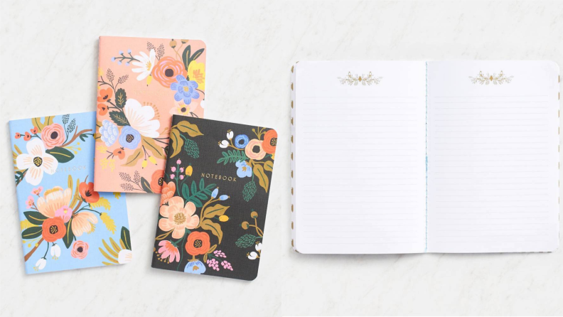 Paper Source Lively floral journals