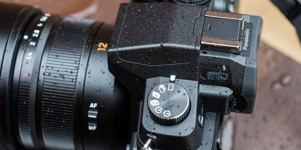 Panasonic Lumix G85 Continuous Mode Dial